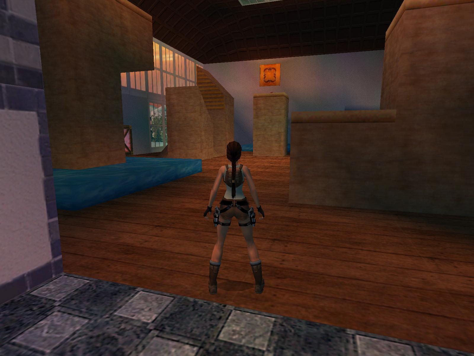 Lara Croft  Secret Room In House
